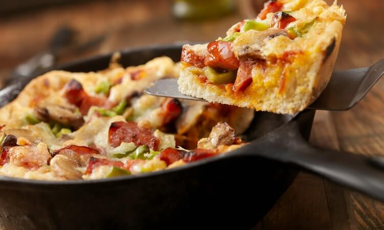 How Many Calories Are There In A Pan Pizza?
